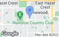 Map of Homewood, IL