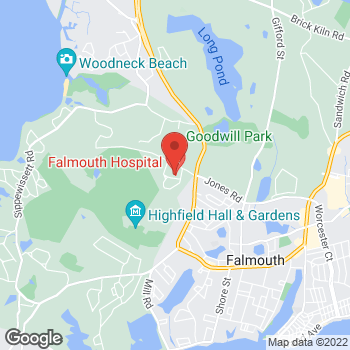 Map of Megan A. Titas, MD at 90 Ter Heun Drive, 3rd Floor, Falmouth, MA 02540