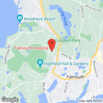 Map of Lindsey M. Korepta, MD, RPVI at 90 Ter Heun Drive, Suite 303, Falmouth, MA 02540