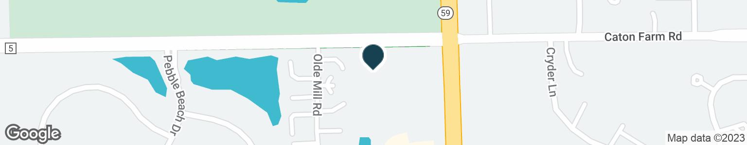 Google Map of4822 CATON FARM RD