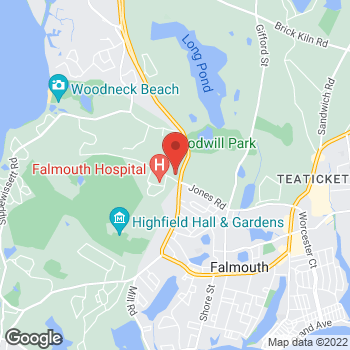 Map of Rohan Khurana, MD at 100 Ter Heun Drive, Falmouth, MA 02540