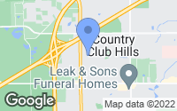 Map of Country Club Hills, IL