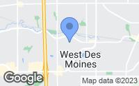 Map of West Des Moines, IA