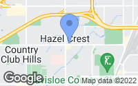 Map of Hazel Crest, IL