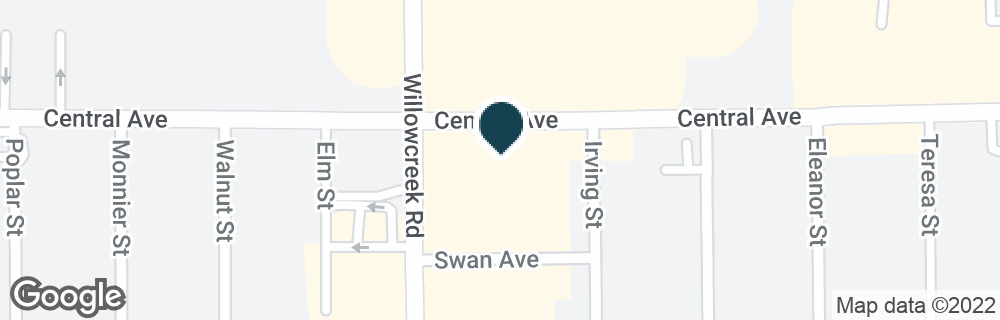 Google Map of6001 CENTRAL AVE