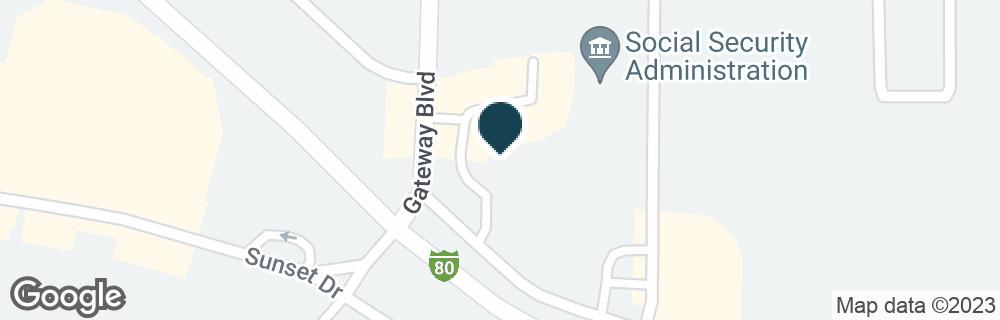 Google Map of70 GATEWAY BLVD
