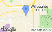 Map of Willoughby Hills, OH