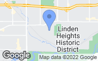Map of Des Moines, IA