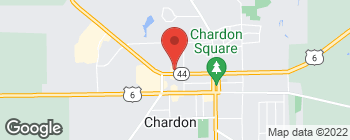 Map of 220 Center St in Chardon