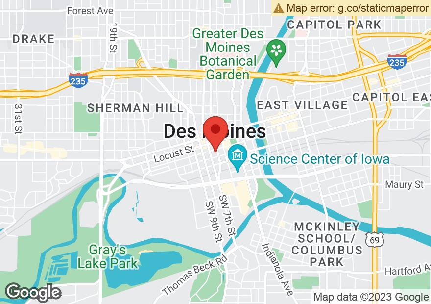 Google Map of 606 WALNUT ST