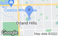Map of Orland Hills, IL