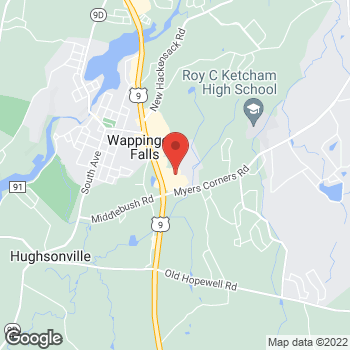 Map of Optimum WiFi Hotspot at 29 Marshall Rd, Wappingers Falls, NY 12590