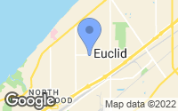 Map of Euclid, OH