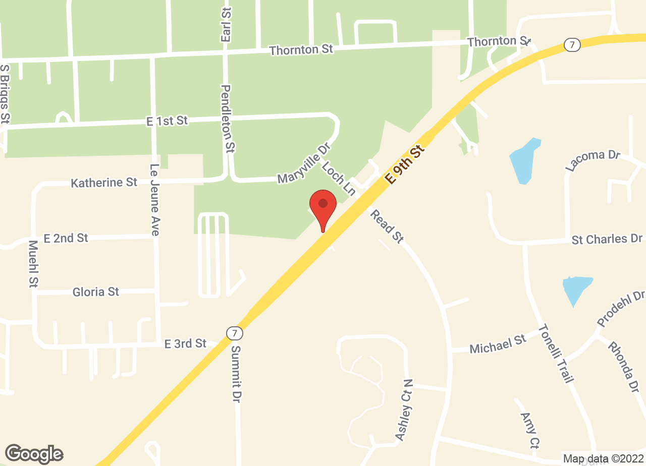 Google Map of VCA All Pets Animal Hospital
