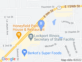 Map of Amusement Bark of Lockport Dog Boarding options in Lockport | Boarding