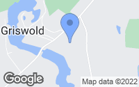 Map of Griswold, CT