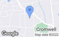 Map of Cromwell, CT