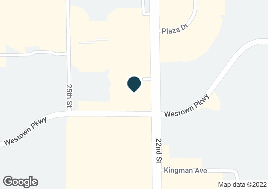 Google Map of1660 22ND ST