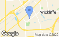 Map of Wickliffe, OH