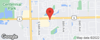 Map of 9121 159th St in Orland Hills