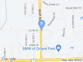 Map of Orland Park Boarding Kennel Dog Boarding options in Orland Park | Boarding