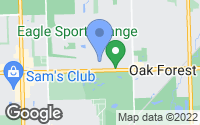 Map of Oak Forest, IL