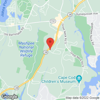 Map of Julie Craig-Muller, MD at 5 Industrial Drive, Mashpee, MA 02649