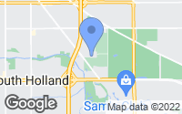 Map of South Holland, IL