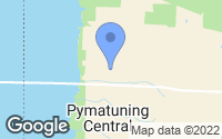Map of Pymatuning Central, PA