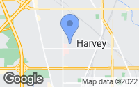 Map of Harvey, IL