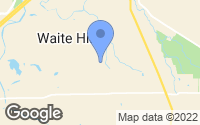 Map of Waite Hill, OH