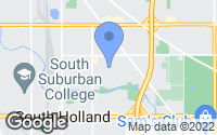 Map of Dolton, IL