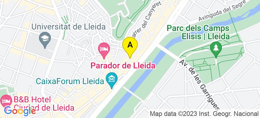 situacion en el mapa de . Direccion: Campament nº3, 25002 Lleida. Lleida