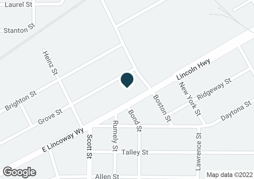 Google Map of525 E LINCOLNWAY