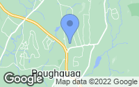 Map of Poughquag, NY