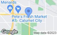 Map of Calumet City, IL
