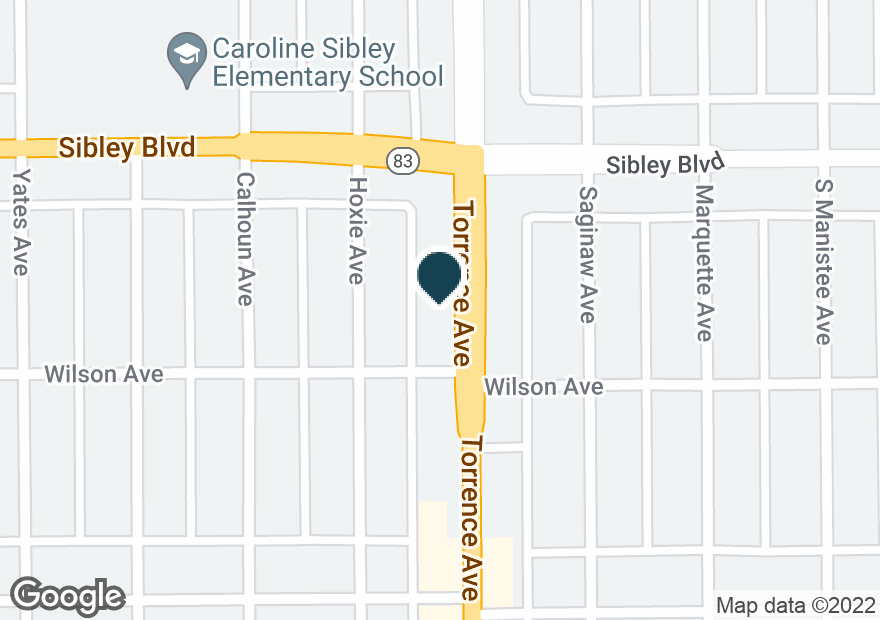 Google Map of522 TORRENCE AVE