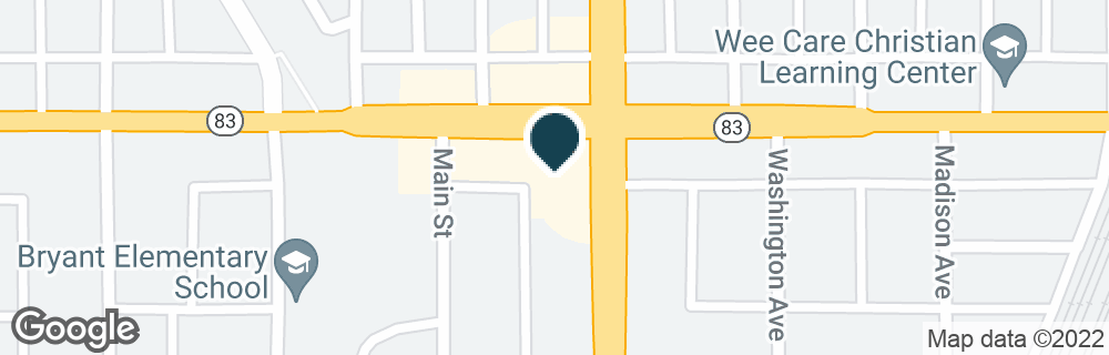 Google Map of14700 HALSTED ST