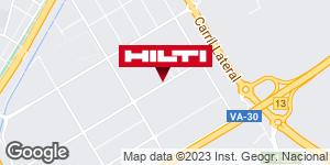 Obtener indicaciones para Tienda Hilti-Valladolid
