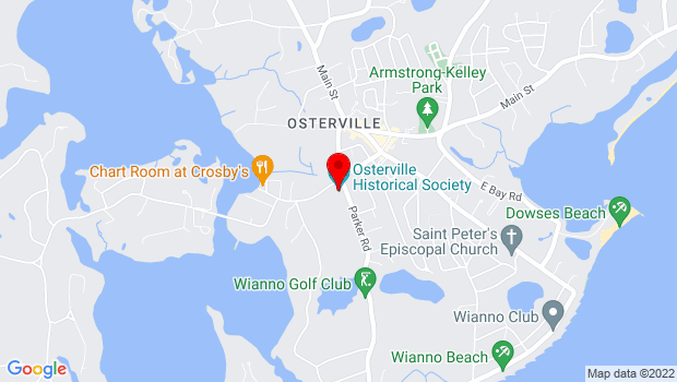 Google Map of 155 West Bay Road, Barnstable, MA 02655