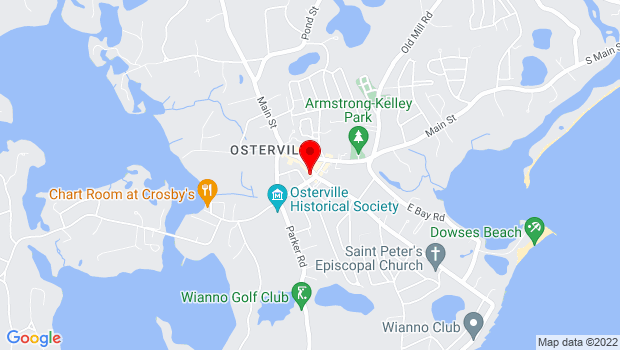 Google Map of 43 Wianno Ave, Osterville, MA 02655