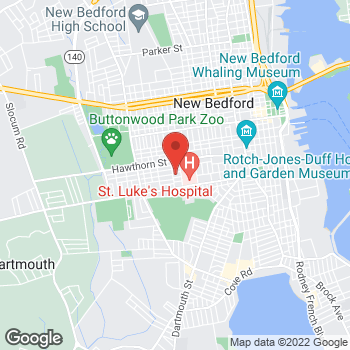 Map of Jessica Agaran, NP at 54 Brigham Street, New Bedford, MA 02740