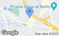 Map of Berlin, CT