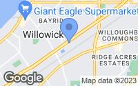 Map of Eastlake, OH