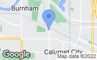 Map of Calumet City, IL