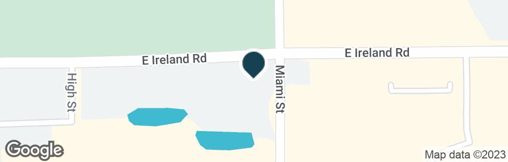 Google Map of1010 E IRELAND RD