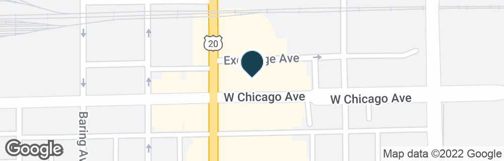 Google Map of720 W CHICAGO AVE
