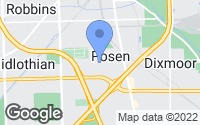 Map of Posen, IL