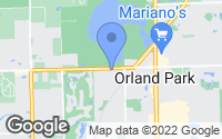 Map of Orland Park, IL