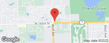 Map of 14273 Wolf Rd in Orland Park